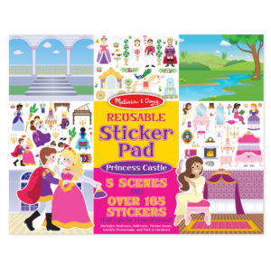 Stickerblok - prinsessen